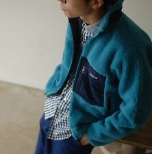 NWT $200 Patagonia Classic Retro X Fleece Jacket in Underwater Blue sz XL
