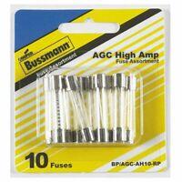Cooper Bussmann BP-AGC-AH10-RP 10 Piece High Ampere Fuse