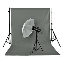 Neewer Photo Studio 10 x 20ft Grey Pure Muslin Collapsible Backdrop Background