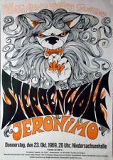 STEPPENWOLF - 1969 - Konzertplakat - Jeronimo - Tourposter - Hannover