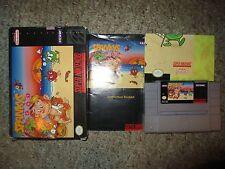 Spanky's Quest (Super Nintendo SNES, 1992) Complete w/ Poster GOOD