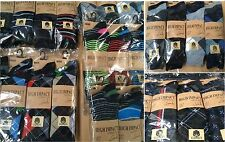 24 PAIRS OF MEN'S SOCKS ASSORTED COLOURS/DESIGNS, SIZE 6-11 WHOLESALE JOB LOT