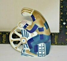 Sargadelos Pottery Figure Man Knife Grinder Abstract MCM