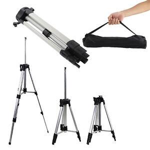 Kamera Teleskop Stativ für Lasernivelliergerät Kreuzlinenlaser Nivellierstativ 1
