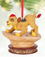 NEW Disney Store Kion The Lion Guard Sketchbook 2016 Christmas Ornament NIB