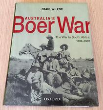 Craig Wilcox - AUSTRALIA'S BOER WAR - The War in South Africa 1899 to 1902 - HC