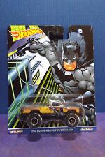 2017 Hot Wheels DC COMICS BATMAN 1980 DODGE MACHO POWER WAGON. Near Mint card.