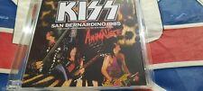 KISS SAN BERNADINO CA LIVE 1985 RARE IMPORT 2 CD ANIMALIZE TOUR SOUNDBOARD MINT