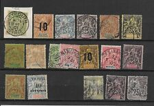 French Colonies lot. $ 150