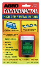Abro thermometal Alta Temperatura reparación Metal Acero Hierro Soldadura grietas agujeros 85g