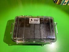 Pelican 1050 Micro Case (Clear Black) Euc