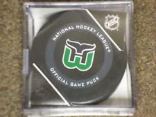 2019 - 2020 HARTFORD WHALERS 3rd Jersey Official Game Puck
