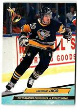 1992-93 Ultra JAROMIR JAGR (ex-mt) Pittsburgh Penguins