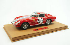 1/18 BBR FERRARI 275 GTB 24HR LEMANS 1966 BROWN DELUXE LEATHER BASE LE 5 PCS MR