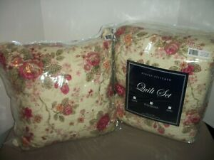 Greenland Home Fashions Antique Rose 5 Piece Full/Queen Quilt Set~NIP!