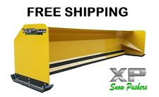 14' Xp36 Snow pusher box backhoe loader snow plow Express Steel Free Shipping