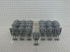 25x Superkampfdroide (B2 Battle Droid) Grau mit Grundplatten - kompatibel