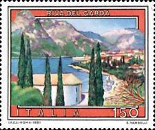 # ITALIA ITALY - 1981 - Riva del Garda lago Lake Turismo - Stamp MNH