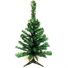 Christmas Table Top Desk Artificial Small Mini Xmas Tree jute base 60 cm 50 tips