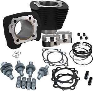 "S&S Cycle Sportster ""Hooligan"" Engine Kit 883 cc to 1200 cc - Black 910-0606"