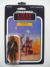 Retro Star Wars Chewbacca Aslan Adam Uzay savascilari Custom Bootleg MOC