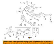 FORD OEM 10-14 Mustang Front Suspension-Lower Control Arm Rear Bolt W710141S439