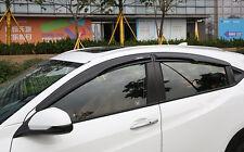Mugen Style SUN/RAIN Window Visor Vent New For Honda Vezel HR-V 2014-2017