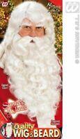 WIG BEARD MUSTACHE EYEBROWS - SANTA SET CHRISTMAS FANCY DRESS COSTUME ACCESSORY