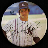 "1978 Bucky Dent New York Yankees 3"" Pinback Button"