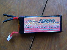 11.1 V 1500 mAh lipo battery 20C RC boat heli car under 110 grams free postage