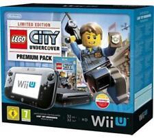 Nintendo Wii U (Aktuellstes Modell)- LEGO CITY Undercover Premium Pack 32GB Schwarz Spielekonsole (PAL)