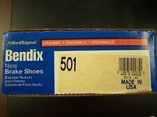 Bendix USA 501 Rear New Brake Shoes Escort EXP Tempo LN-7 Lynx Topaz Encore