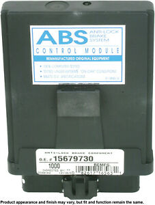 Remanufactured ABS Brake Module  Cardone Industries  12-1000