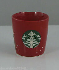 Starbucks TASTING CUP Christmas 2013 cappuccino GWP for Christmas Blend Coffee