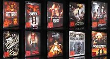 DVD ACTION + HORROR FSK 18 - 10 DVD-SET AUTOPSY MANSON GIRL VILLA CAPTIVE ZOMBIE