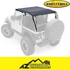 Smittybilt Mesh Extended Top Black Mesh For 1997-2006 Jeep Wrangler TJ 93600