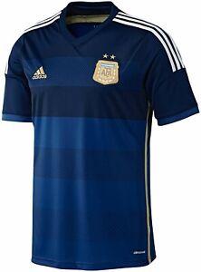 Adidas 2014 Argentina Away Shirt Messi 10 Size M