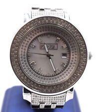 Men's Diamond Freeze Watch 6.0 Ct MOP FACE Apx Diamond Weight Retail $3,995!!