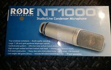 Micro studio RODE NT1000 + suspension