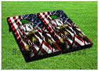 VINYL WRAPS Cornhole Boards DECALS Bag Toss Game Stickers 875