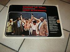 FOTOBUSTA,TORO SCATENATO,Raging Bull Robert De Niro,Scorsese,1980 BOXE,LAMOTTA