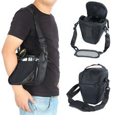 New Triangle Black Camera Bag Backpack SLR Case for Canon Nikon Sony SLR DSLR