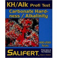 TEST UNTERSUCHUNG KH/ALK HÄRTE Carbonaten. profi test. Marke SALIFERT.