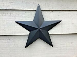 Black Metal tin barn star Barn Star 20cm