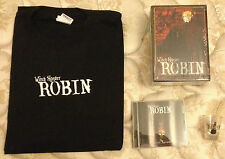 ROBIN WITCH HUNTER COMPLETE DVD COLLECTION T-SHIRT  SHOT GLASS AND SOUNDTRACK