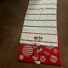 """2 Micky/Minnie Mouse Bath Towels 27""""x 50""""Disney by Jumping Beans New"""