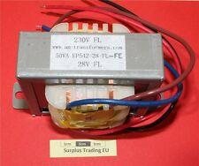 AM EP542-28-FL-FE 50VA Chassis Mnt Transformer 230V / 28V