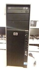 HP Z400 Tower Intel Xeon Quad Core W3503 2.4GHz 8GB RAM 500GB HDD Windows 10 Pro