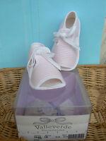 NUOVO Valleverde scarpine sandali neonata num.17colore rosa