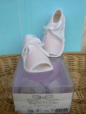 NUOVO Valleverde scarpine sandali neonata num.18 colore rosa